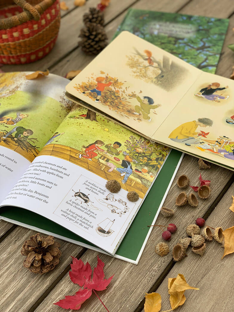 Autumn books for children Gerda Muller