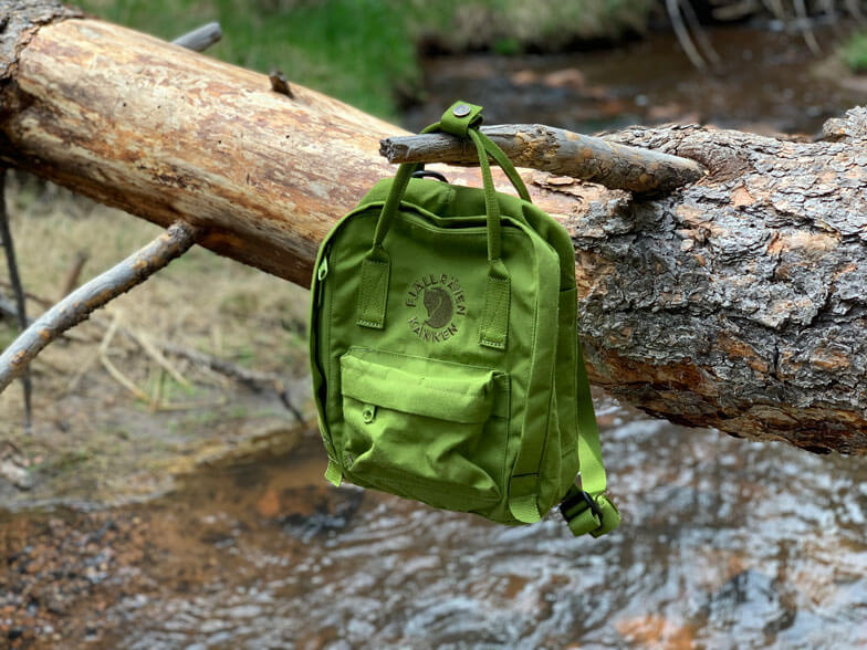 Fjallraven Re-Kanken Mini backpack review