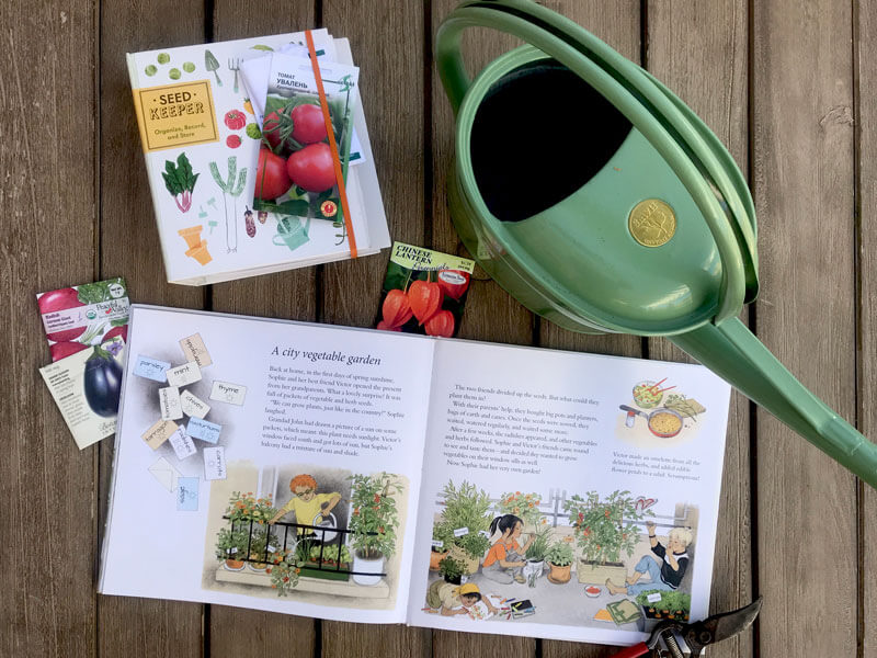 How does my garden grow by Gerda Muller, children's book