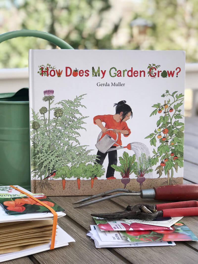 How does my garden grow by Gerda Muller, children's book