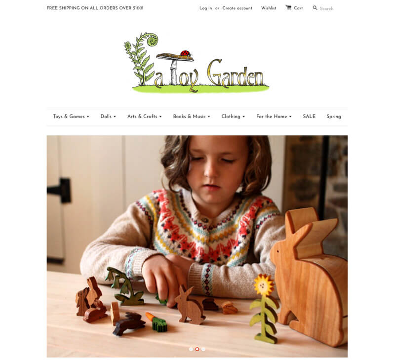 A Toy Garden - natural toys, Waldorf dolls, wooden toys