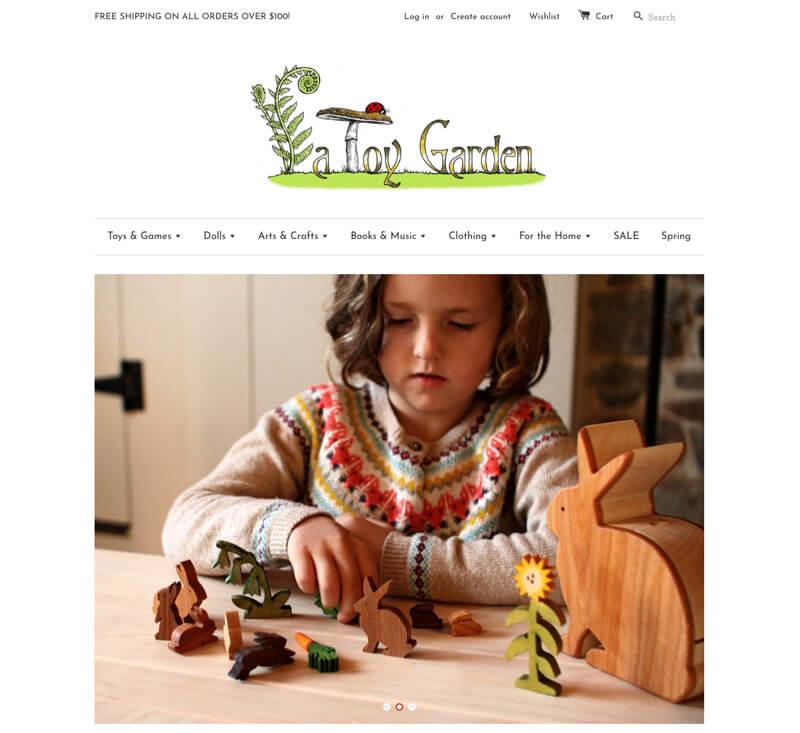 A Toy Garden - natural toys, Waldorf dolls, wooden toys