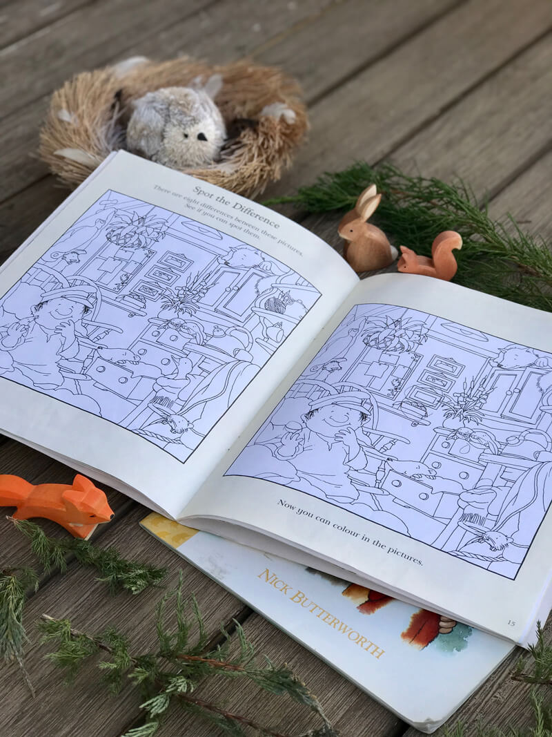 Percy the Park Keeper children book