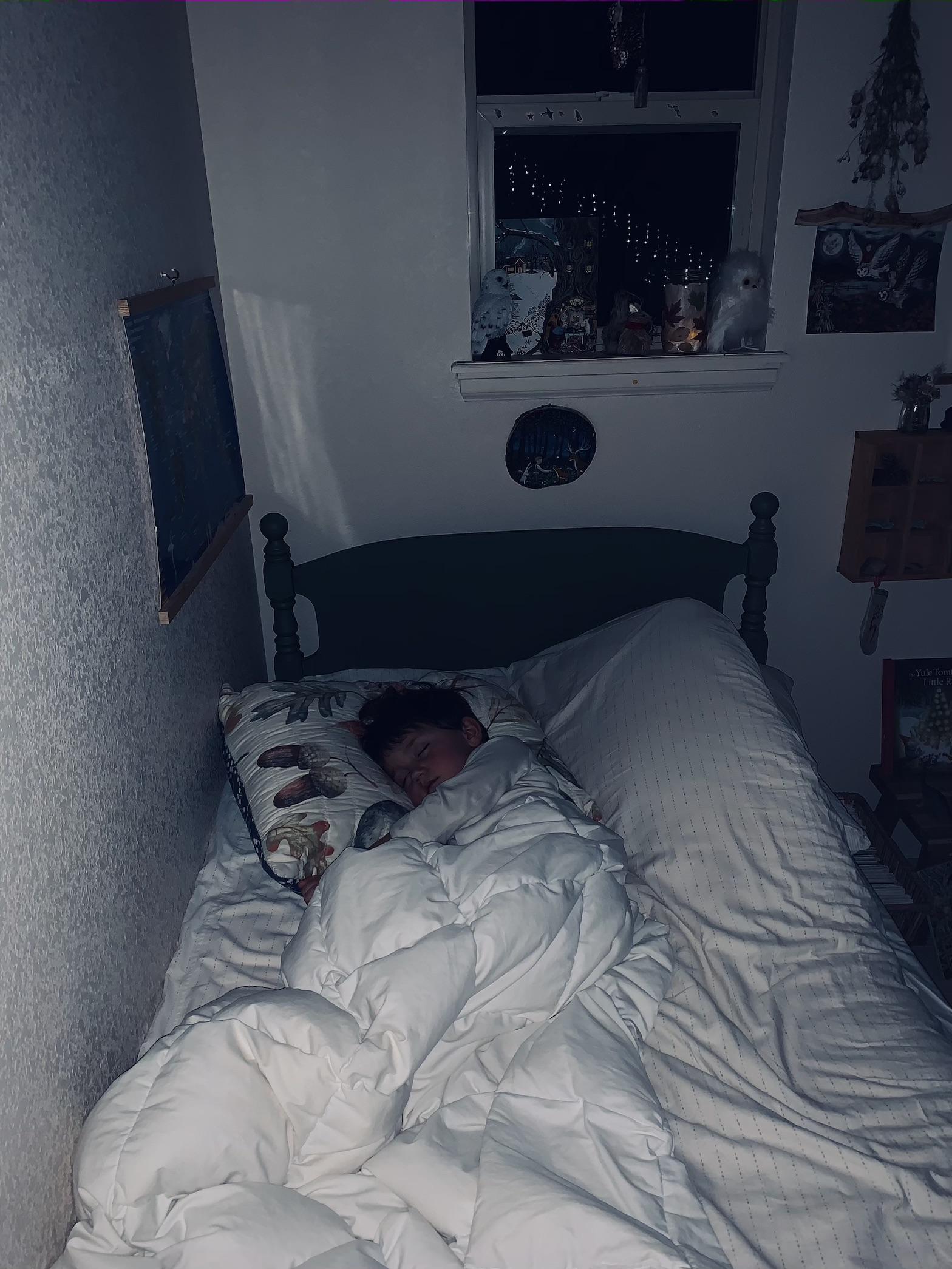 organic kids bedroom