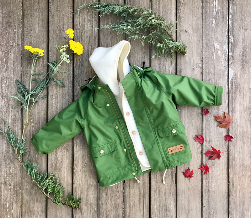 non-toxic children rain gear