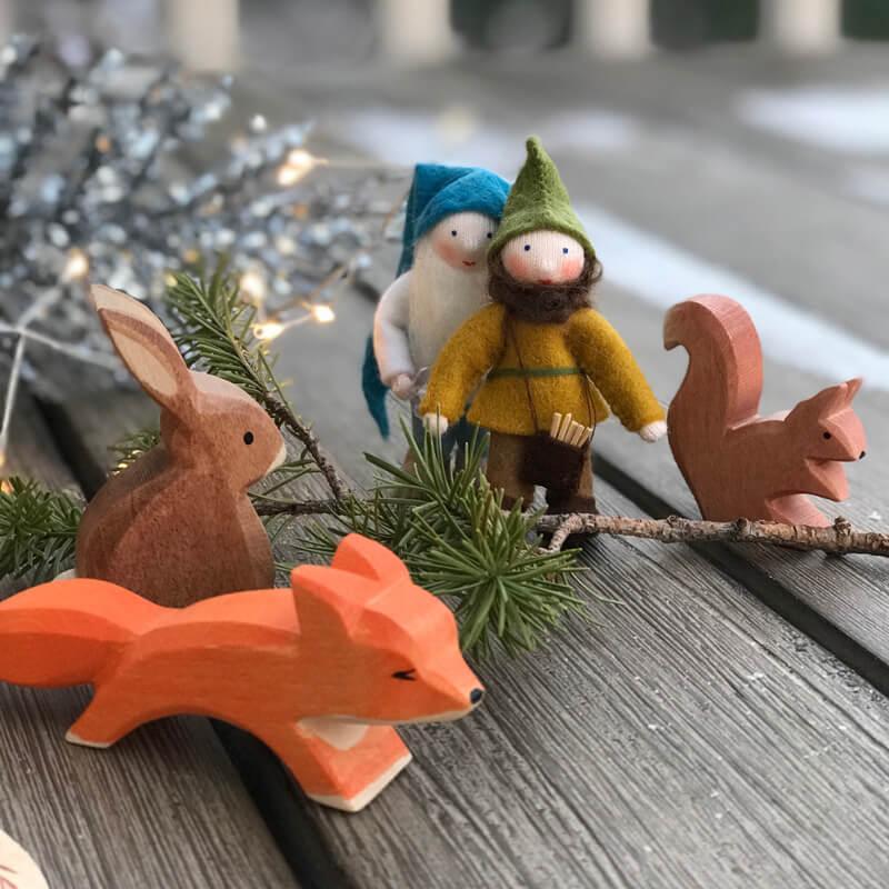 wooden children toys nontoxic handmade