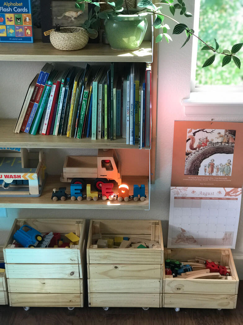kids room decor ideas toy storage kids
