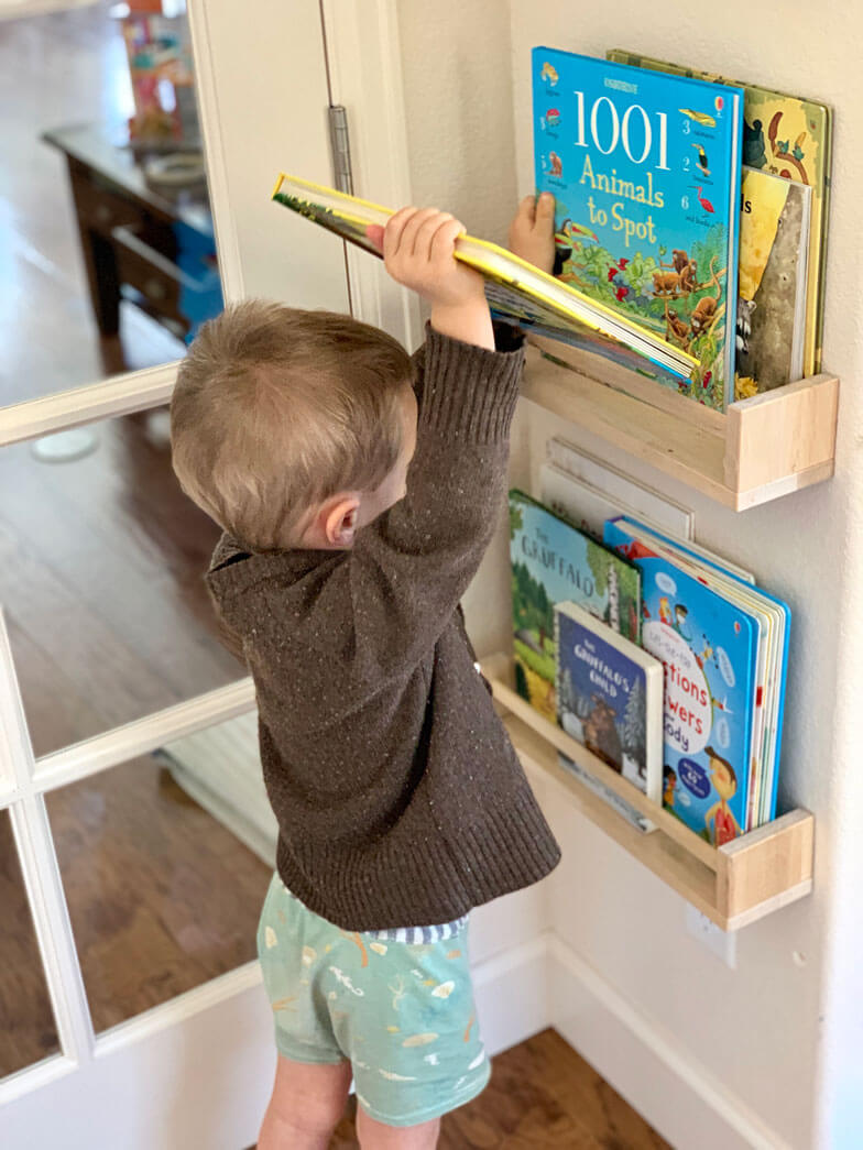 kids room book storage ideas