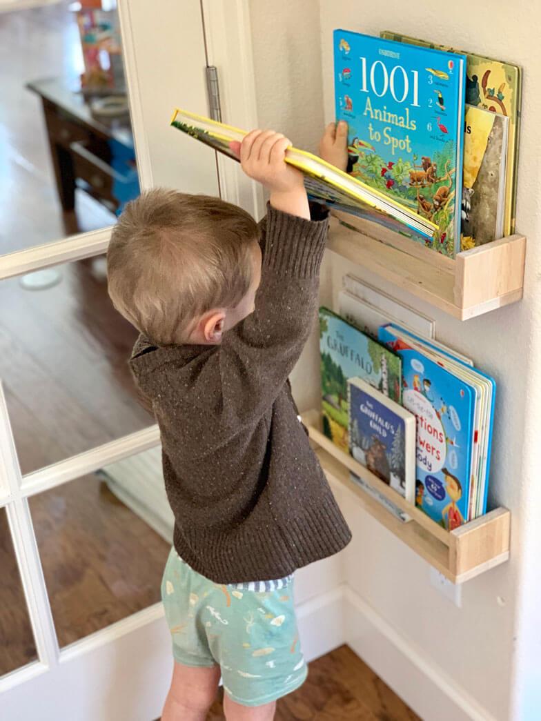 kids room book storage ideas