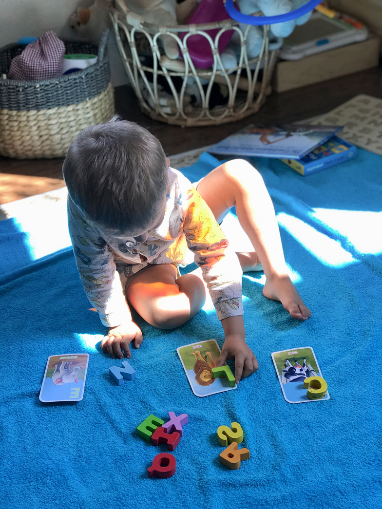 learning to read learning alphabet through play