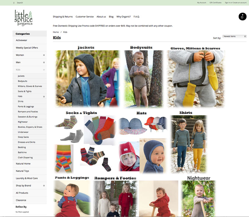 organic clothing store children clothing shoes toys