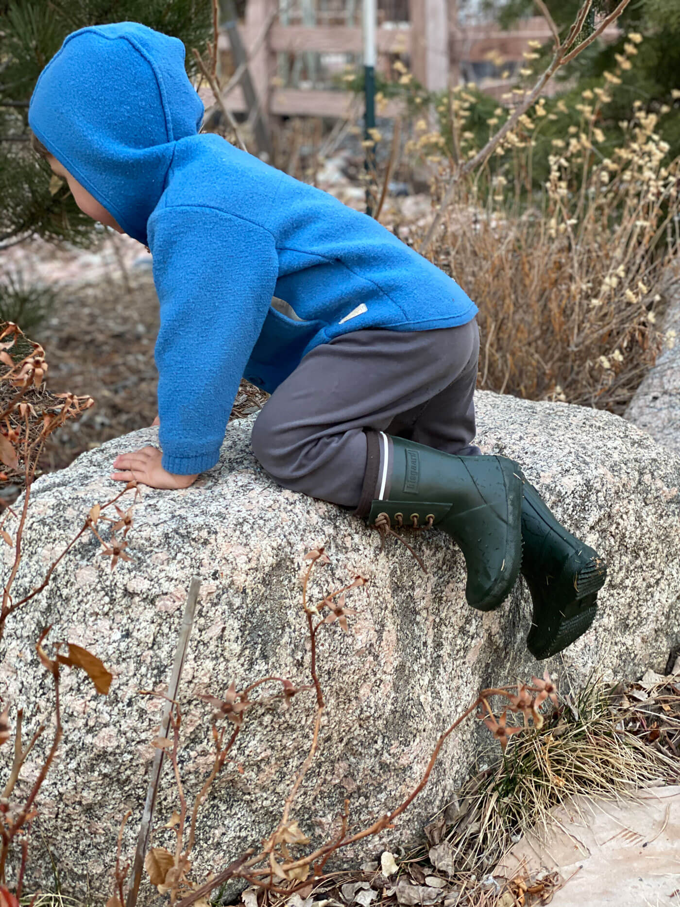 natural rubber boots for children Bisgaard