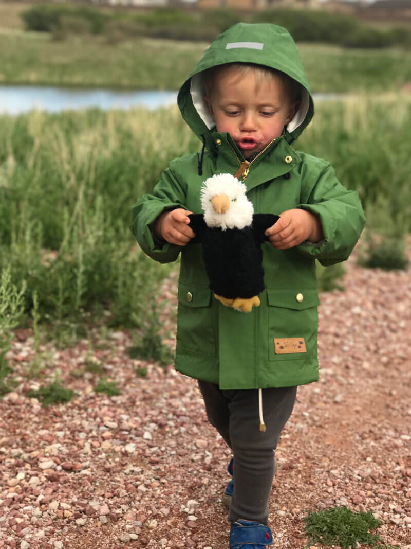 non-toxic children rain jacket