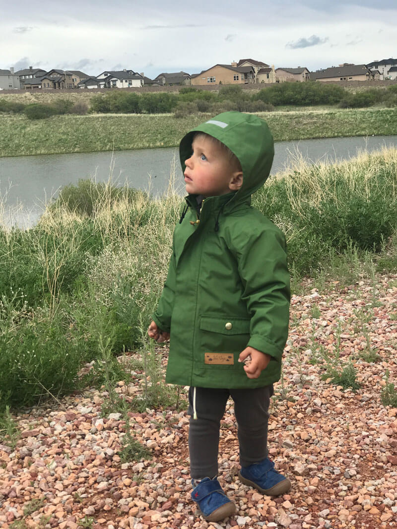 non-toxic children rain jacket