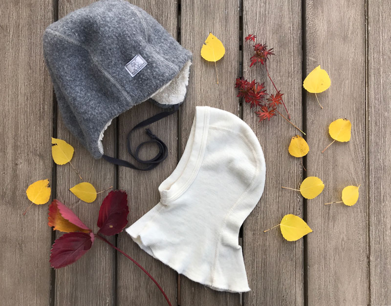 organic baby clothing wool hats
