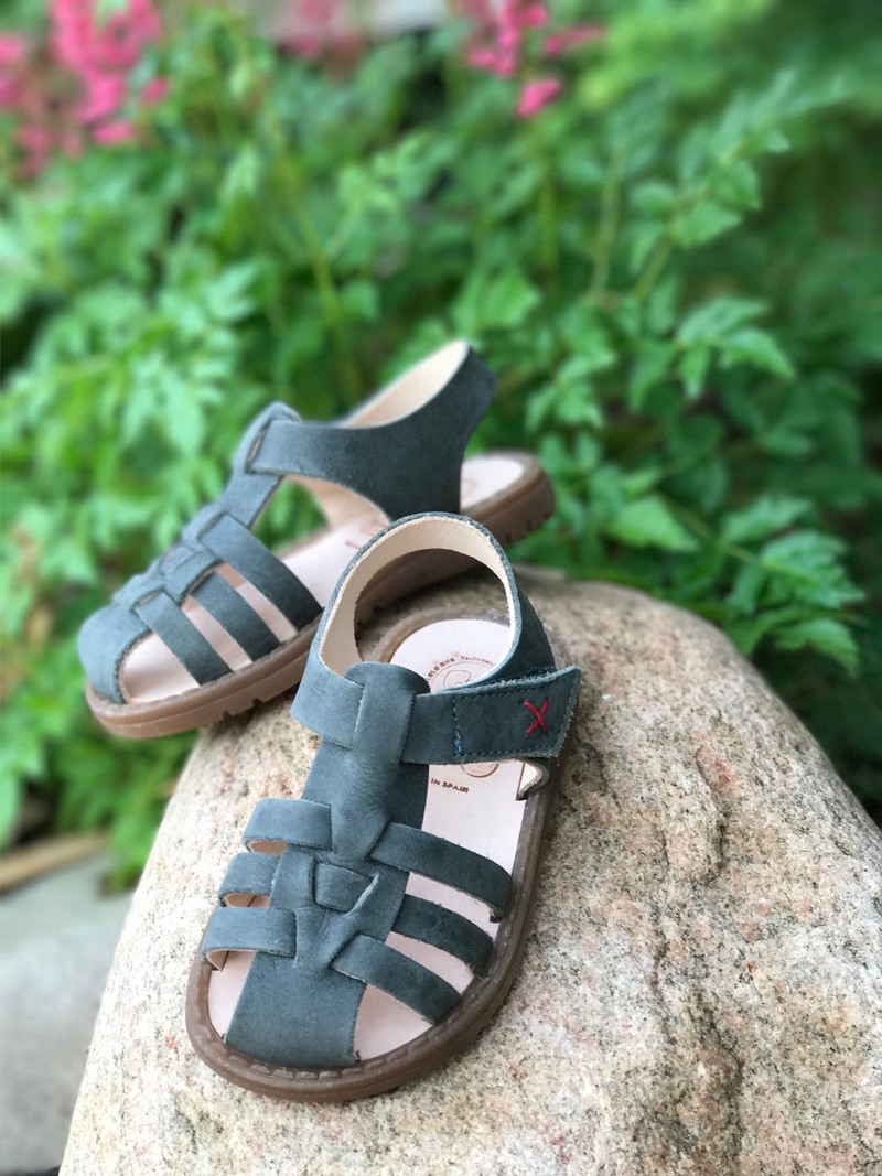 pololo children leather sandals nontoxic children footwear