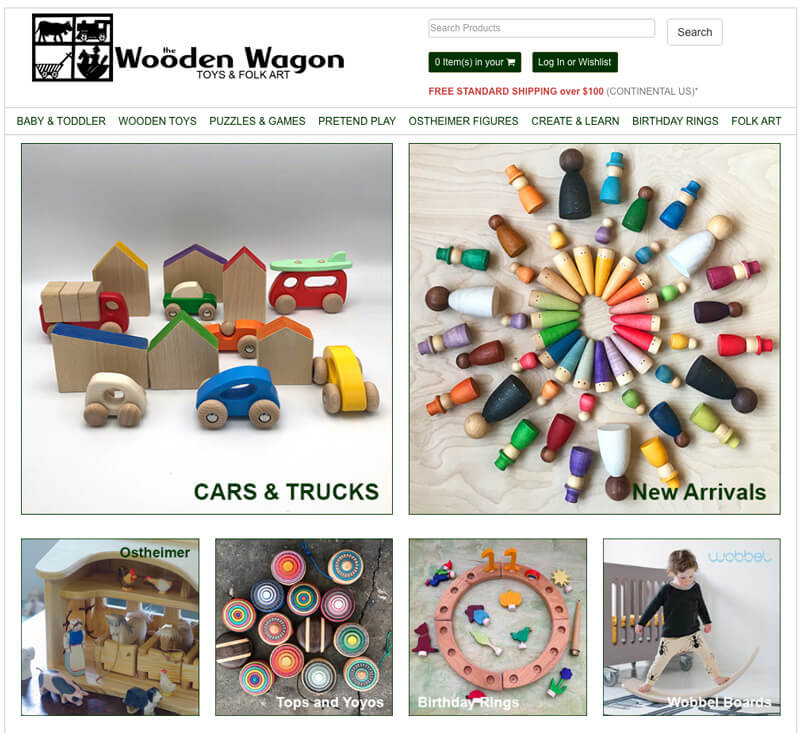 The Wooden Wagon - natural toys, Waldorf dolls, wooden toys